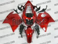 Candy Red Honda CBR1100XX Blackbird Fairings