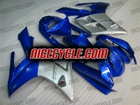 Yamaha FJR1300 Silver/Blue Fairings