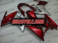 Yamaha FJR1300 Metallic Red Fairings