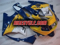 Honda CBR 600 F2 Blue/Yellow/White Fairings