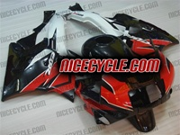 Honda CBR 600 F2 Black/Red OEM Style Fairings