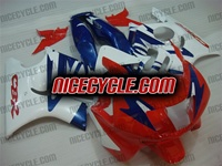 Honda CBR 600 F2 White/Red/Blue Fairings