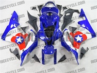 Honda CBR 600RR Captain America Fairings