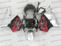 Honda RC51/VTR1000 Black/Red/Silver Fairing