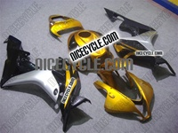 Honda CBR 600RR Gold/Silver Fairings