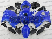 Royal Blue Suzuki GSX-R 1300 Hayabusa Fairings
