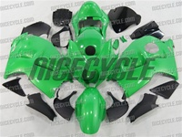Bright Green Suzuki GSX-R 1300 Hayabusa Fairings