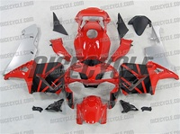 Honda CBR 600RR Red/Silver OEM Style Fairings