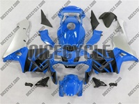 Honda CBR 600RR Blue/Silver/Black Fairings
