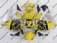 Honda CBR 600RR Yellow/Black/Silver Fairings