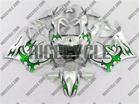 Honda CBR 900RR Green Tribal Fairings