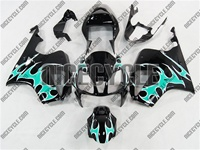Honda RC51/VTR1000 Teal Tribal Fairing
