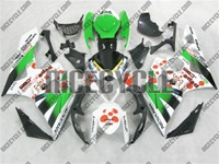 Suzuki GSX-R 1000 Dark Dog Green Fairings