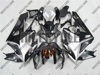 Suzuki GSX-R 1000 Custom White/Black Fairings