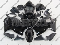 Black on Black Tribal Suzuki GSX-R 1300 Hayabusa Fairings