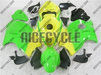 Neon Yellow/Green Suzuki GSX-R 1300 Hayabusa Fairings