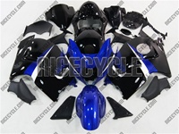 Candy Blue/Black Suzuki GSX-R 1300 Hayabusa Fairings