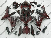 Aftermarket R1 Airbrushed Flames Fairings