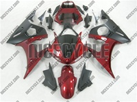 Yamaha YZF-R6 Candy Red Fairings