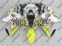 Yamaha YZF-R6 Yellow FIAT Fairings