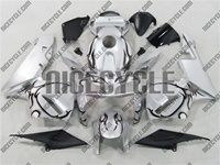 Honda CBR 600RR Silver/Black Tribal Fairings