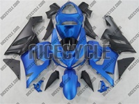Kawasaki ZX6R Matte Blue Fairings