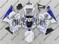 Suzuki GSX-R 1000 White/Blue Corona Fairings