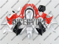 Honda CBR 600 F3 Silver/Red Fairings