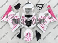 Pink Fire Suzuki GSX-R 1000 Fairings