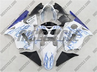 Kawasaki ZX12R Blue Flame/White Fairings
