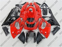 Yamaha YZF-600R Red/Black Fairings