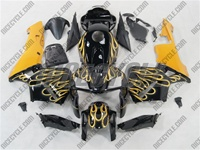 Honda CBR 600RR Yellow Fire Fairings