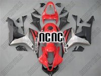 Honda CBR 600RR Red/Black/Silver Fairings