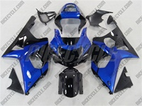 Suzuki GSX-R 1000 Metallic Blue/Black Fairings
