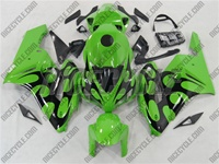 Honda CBR 1000RR Green/Black Tribal Fairings