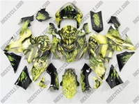 Airbrushed Kawasaki ZX10R Fairings