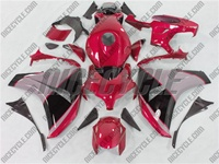 Honda CBR 1000RR Red/Silver/Black Fairings
