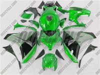 Honda CBR 1000RR Green/Silver/Black Fairings
