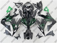 Yamaha YZF-R1 Black/Green Accents Fairings