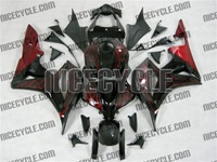 Honda CBR 600RR Red Fire Fairings