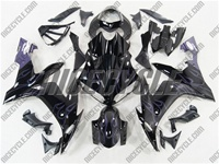 Yamaha YZF-R1 Purple Flames/Black Fairings