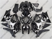 Suzuki GSX-R 1000 White Tribal Fairings