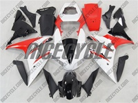 Yamaha YZF-R1 White/Red Fairings