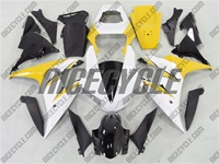 Yamaha YZF-R1 White/Yellow Fairings