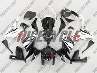 Kawasaki ZX10R FIAT Black Fairings