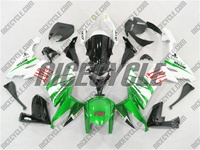 Kawasaki ZX10R FIAT Green Fairings