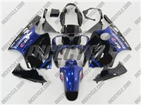 Kawasaki ZX12R Blue/Black Monster-ous Fairings