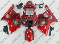 Suzuki GSX-R 1000 Candy Paint Red Fairings