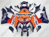 Honda CBR 600RR Blue Repsol Fairings