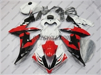 Yamaha YZF-R1 Red/Black Star Fairings